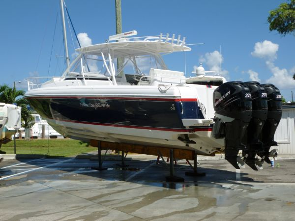 Intrepid 377 w/Warranty! Sports Fishing Boats. Listing Number: M-3725797