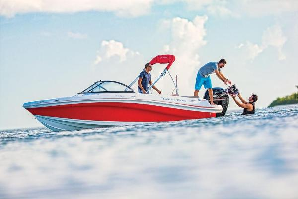 2019 Tahoe boat for sale, model of the boat is 550 TS & Image # 48 of 57