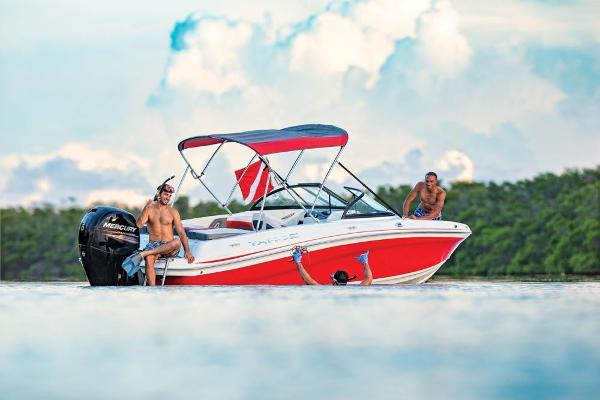2019 Tahoe boat for sale, model of the boat is 550 TS & Image # 49 of 57