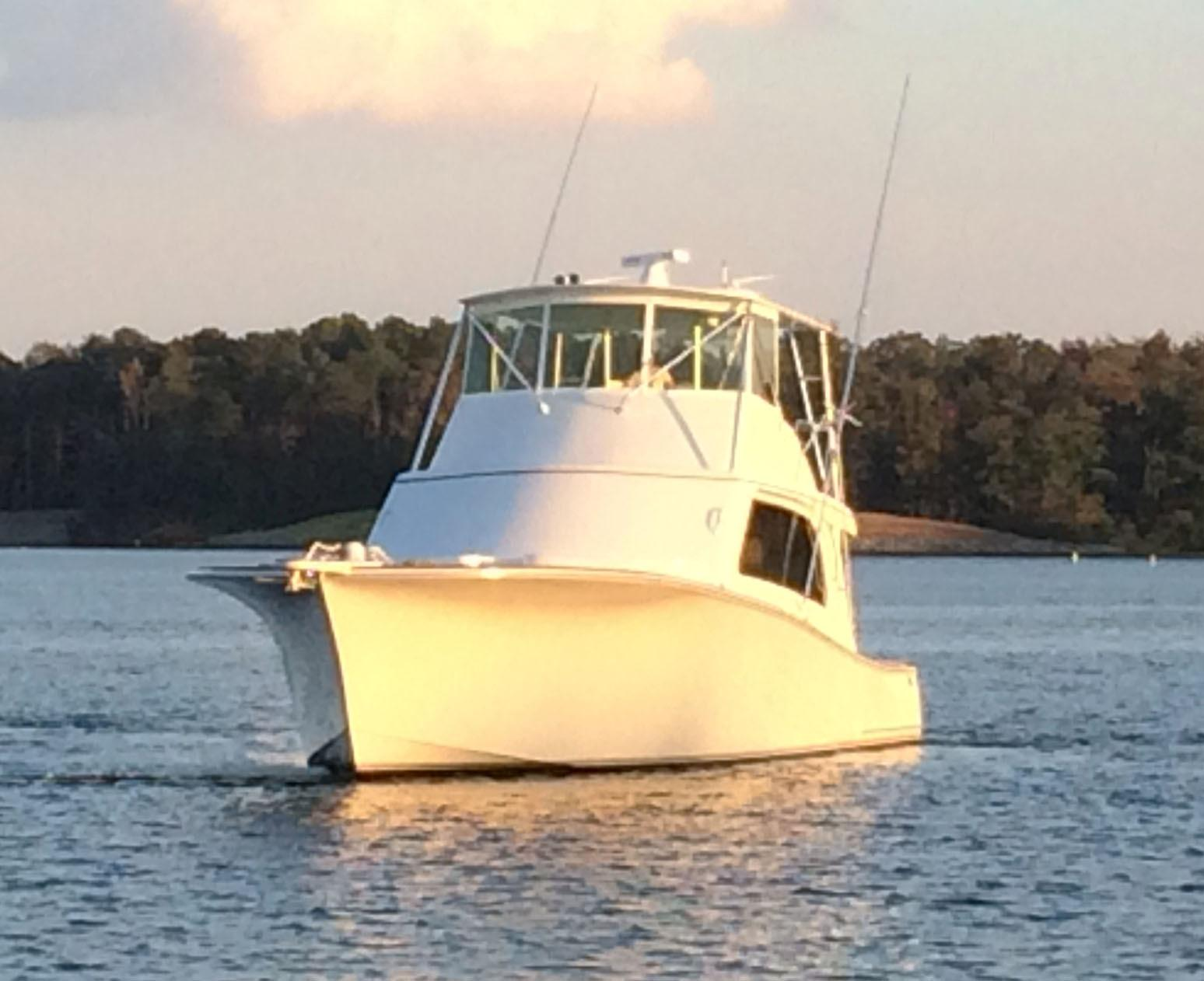 Tiffany 56 Sportfish Bow