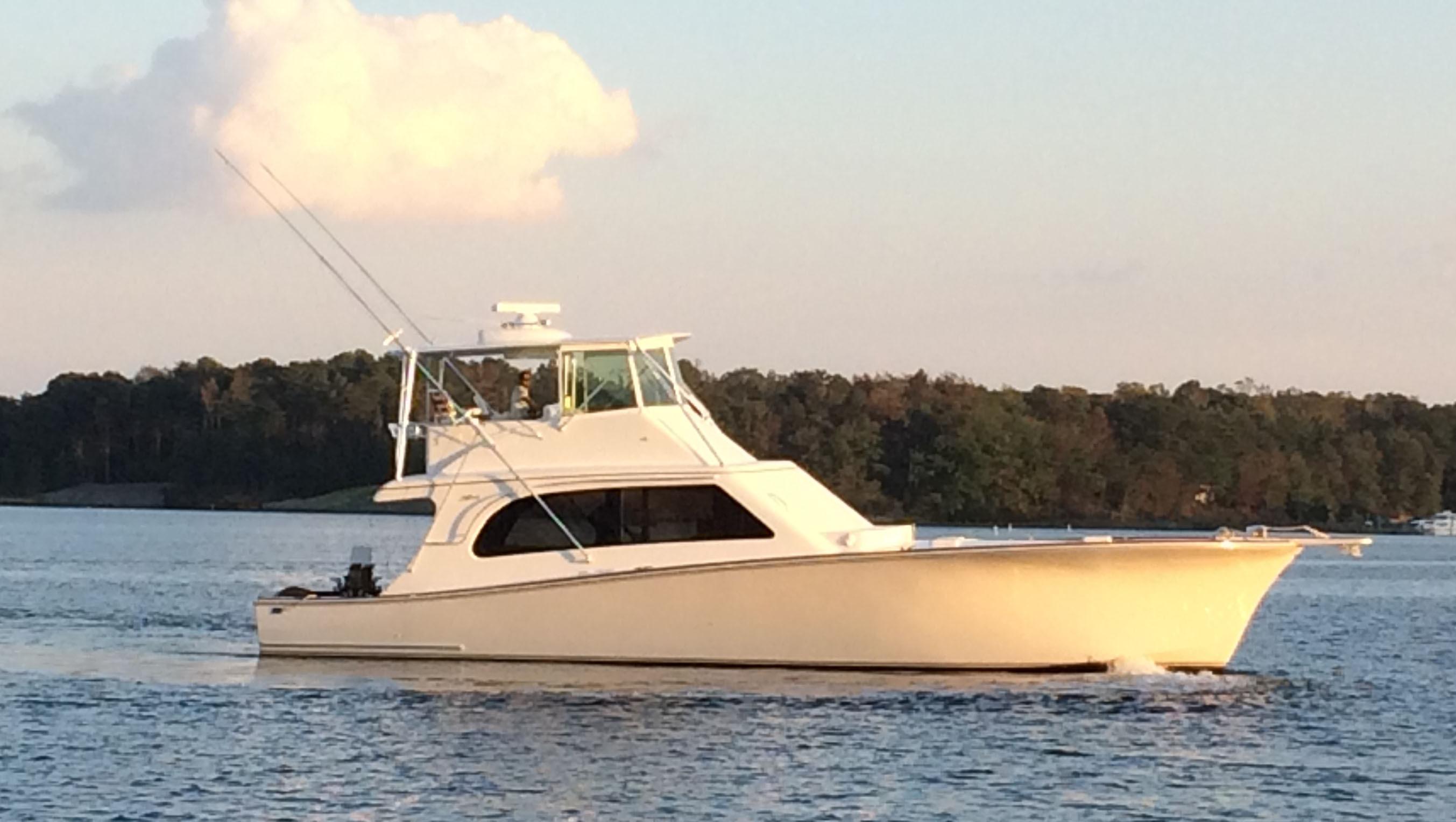 Tiffany 56 Sportfish Starboard Profile