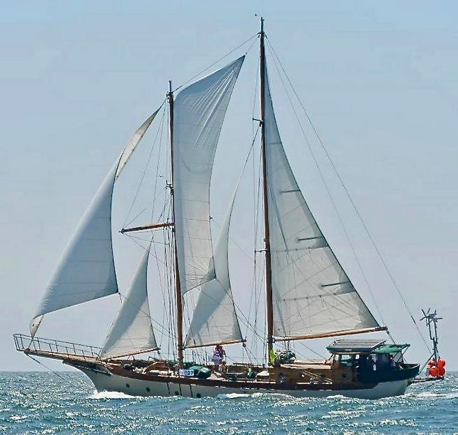 Pankey Staysail Schooner