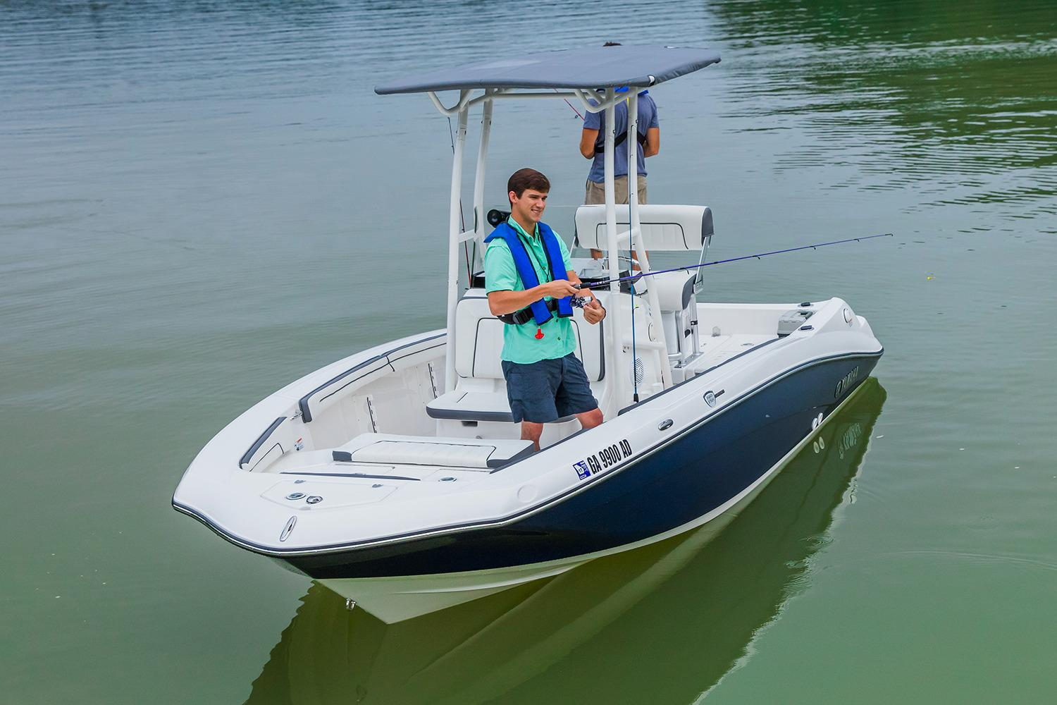 Yamaha jet boats inventory irwin marine for Sport fishing boat manufacturers