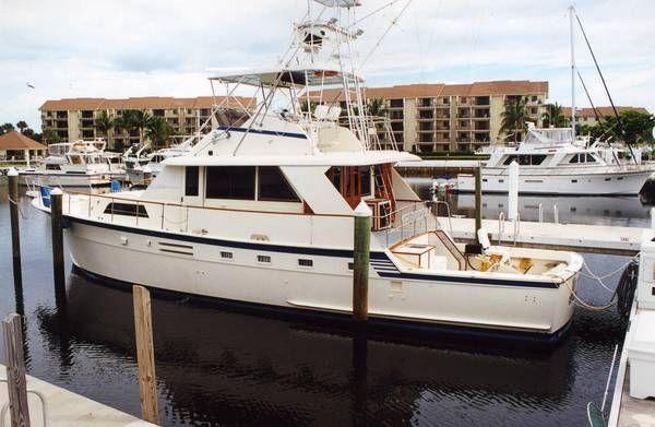 1979 Hatteras 59 Yacht Fish Location: Martin County US. $125000.00