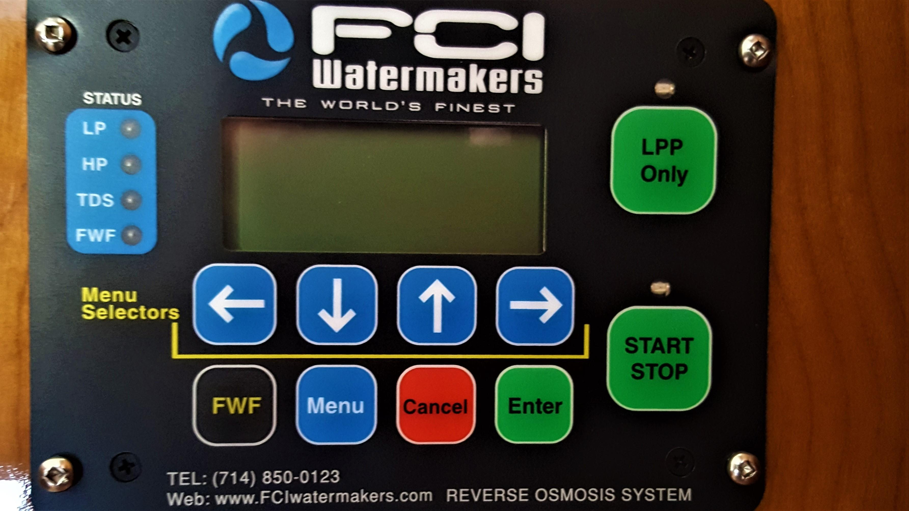 FCI Water Maker Remote Panel