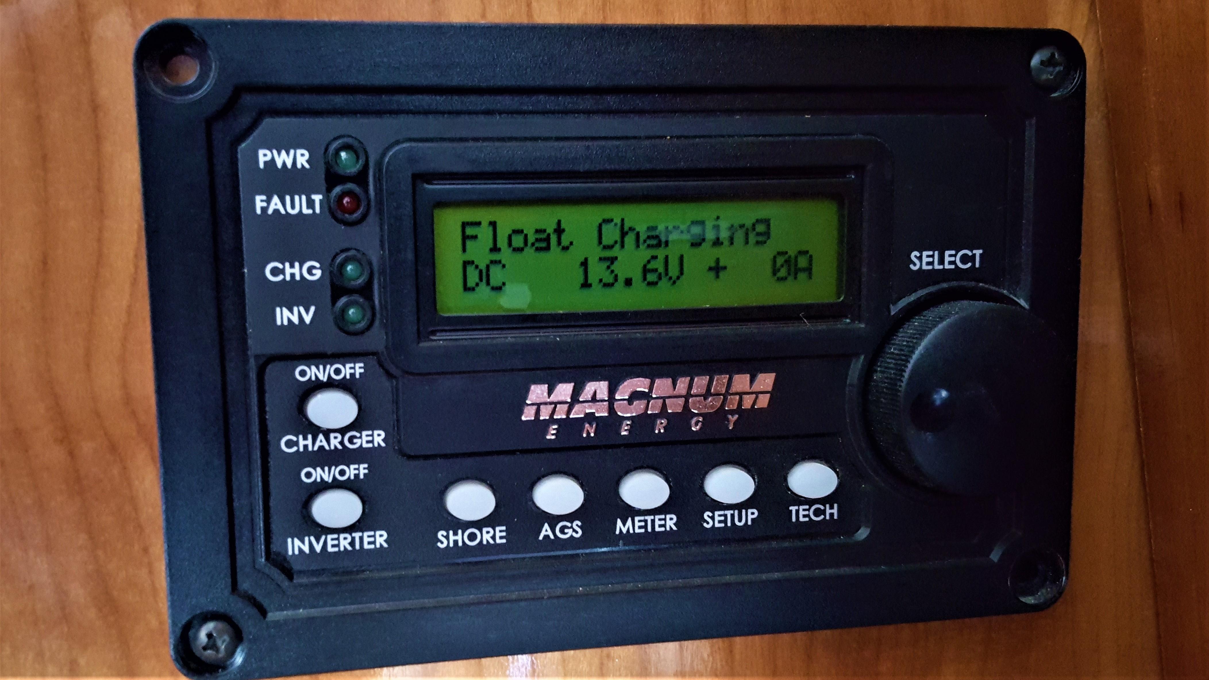 Inverter Remote Control Panel