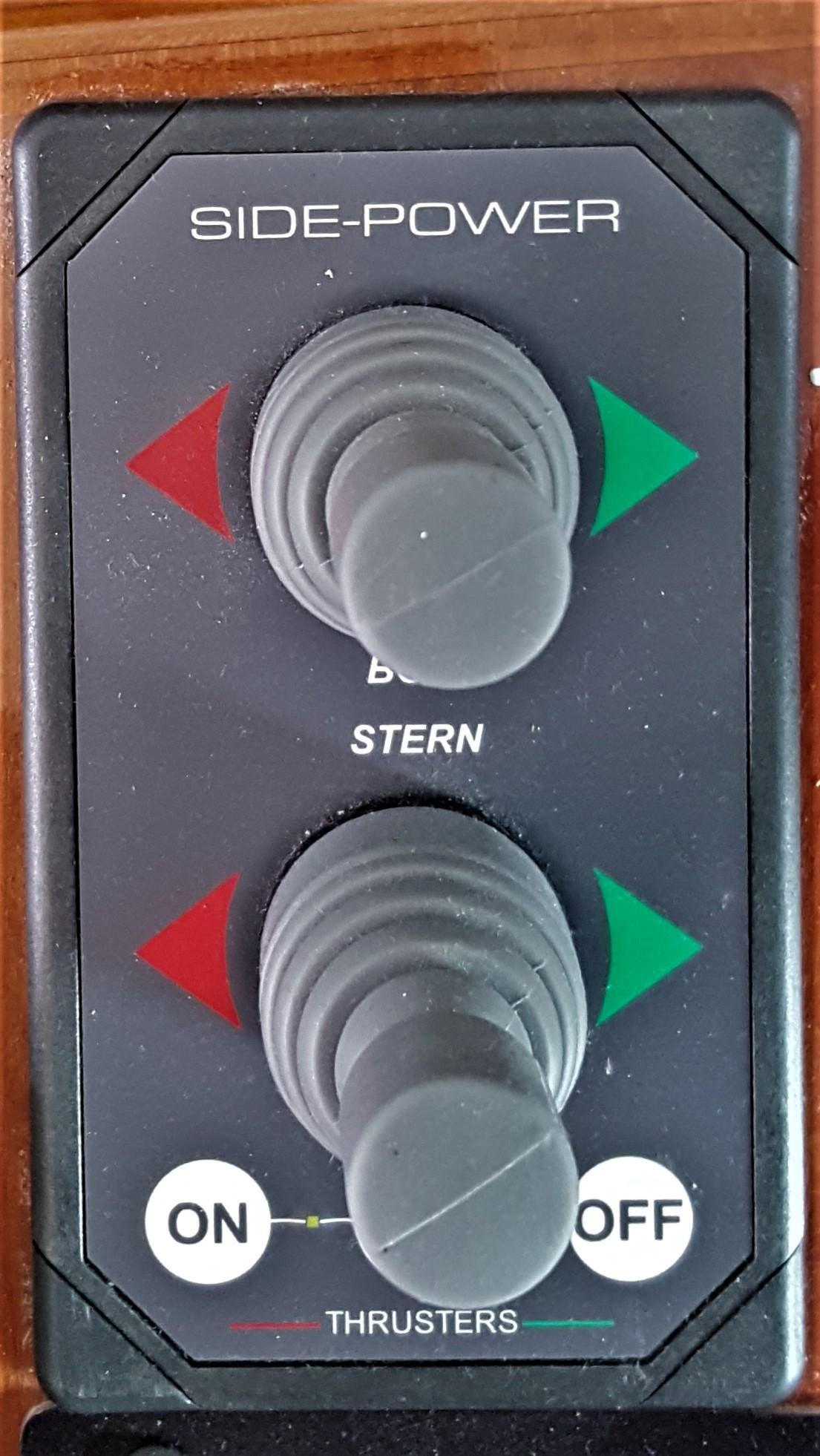 Side Power Bow & Stern Thruster Controls