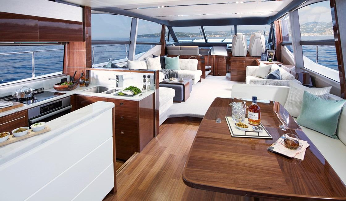 Manufacturer Provided Image: Princess 68 Saloon