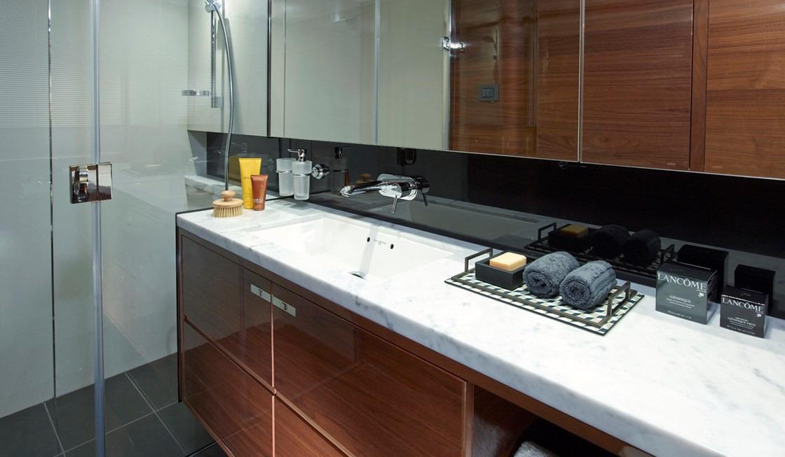 Manufacturer Provided Image: Princess 68 Master Bathroom