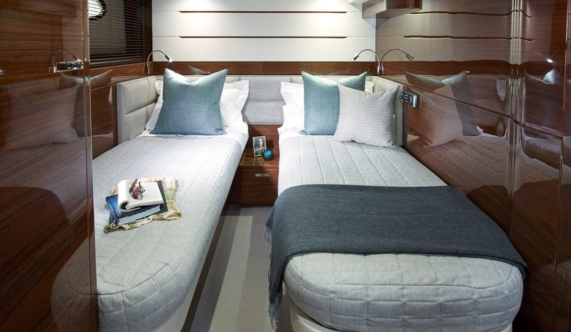 Manufacturer Provided Image: Princess 68 Starboard Twin Cabin
