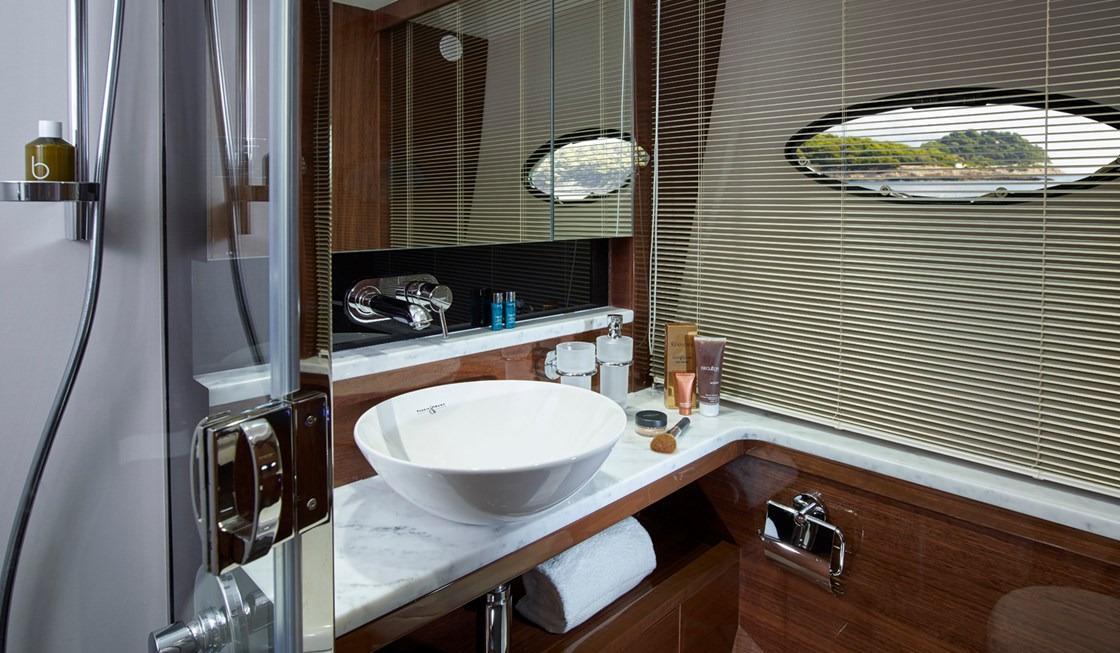 Manufacturer Provided Image: Princess 68 Starboard Bathroom