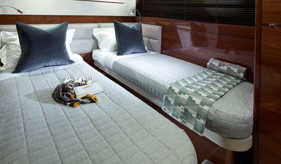 Manufacturer Provided Image: Princess 68 Port Twin Cabin