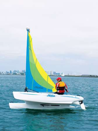 12' Hobie Cat BRAVO SAILBOAT