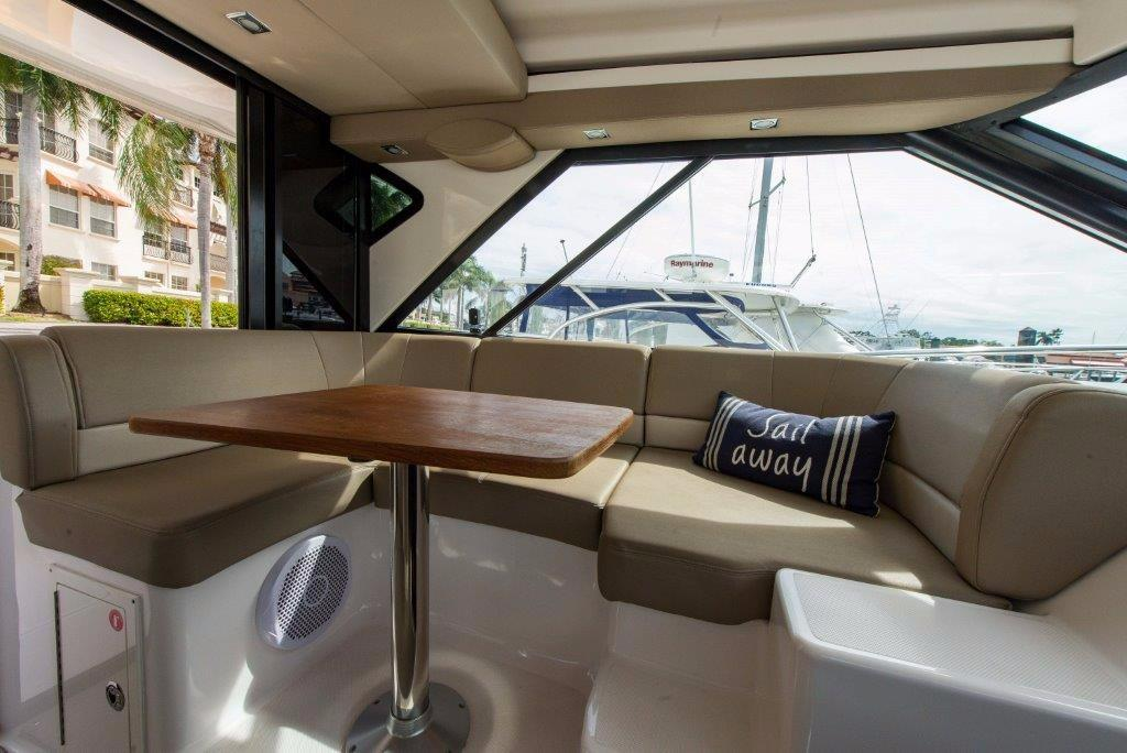 Helm Deck Seating/Dining