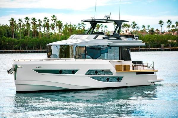 2019 50' Okean FB Motor Yacht