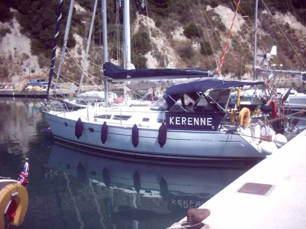 Jeanneau Sun Odyssey 37 · View Boat Details Download PDF