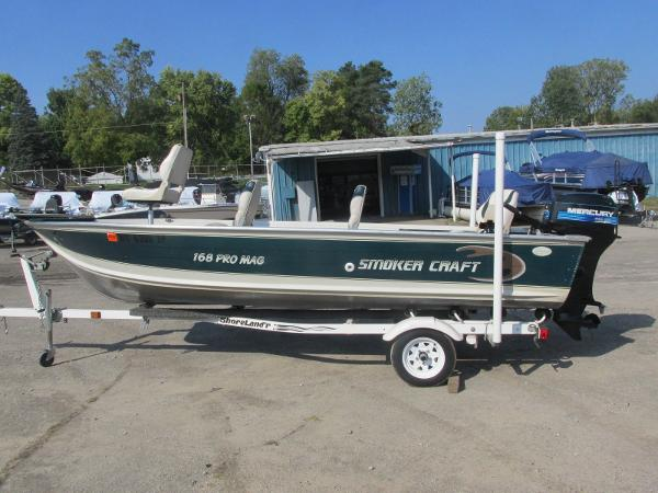 1999 Smoker Craft boat for sale, model of the boat is 168 Pro Mag & Image # 1 of 16