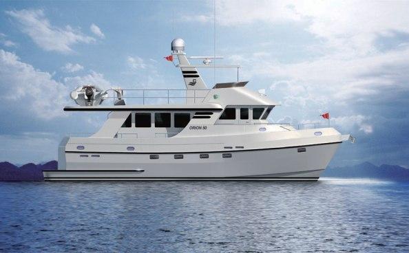 Explorer Motor Yachts Odyssey 52
