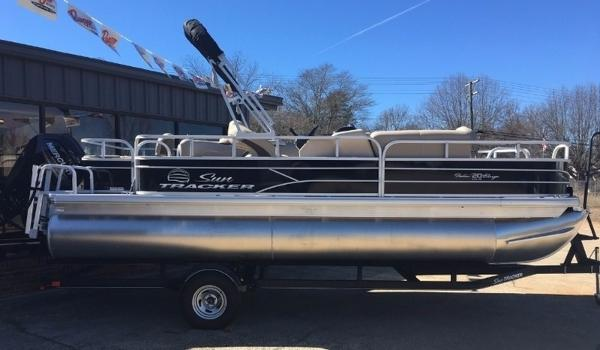 2017 SUN TRACKER FISHIN' BARGE® 20 DLX for sale
