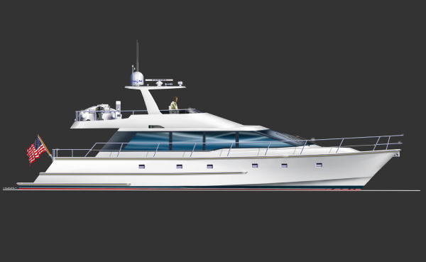 Standard white hull