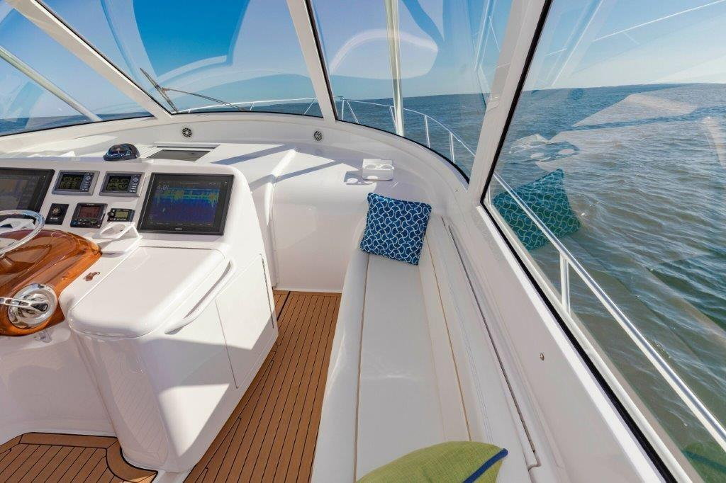 Helm Deck Bench Seating Starboard
