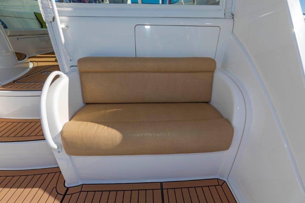 Mezzanine Seating Starboard Cockpit