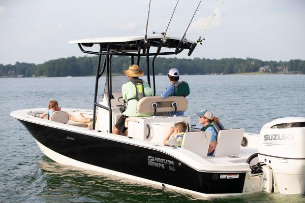 2021 Carolina Skiff boat for sale, model of the boat is 24 Ultra Elite & Image # 5 of 8