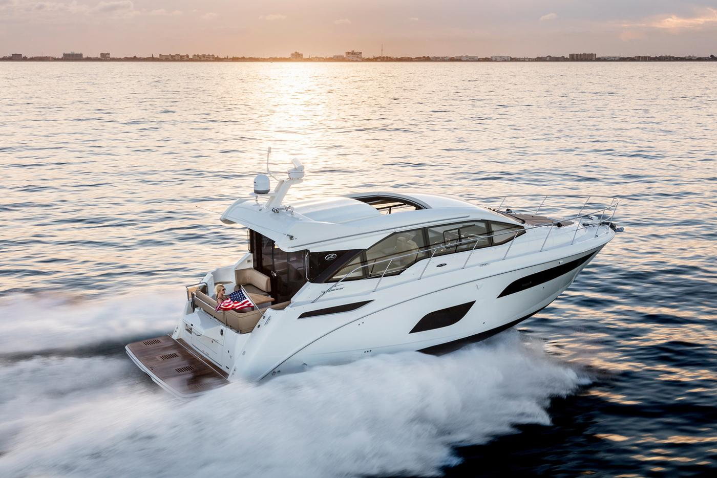 2018 Sea Ray boat for sale, model of the boat is 460 Sundancer & Image # 56 of 2914