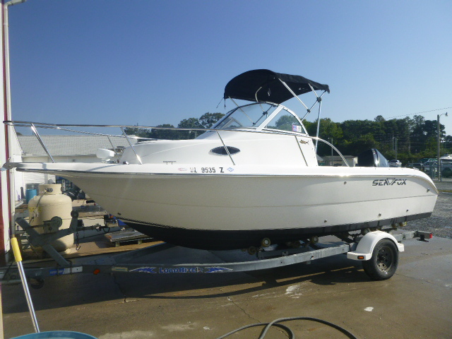 2006 Sea Fox boat for sale, model of the boat is Around 216 & Image # 9 of 11
