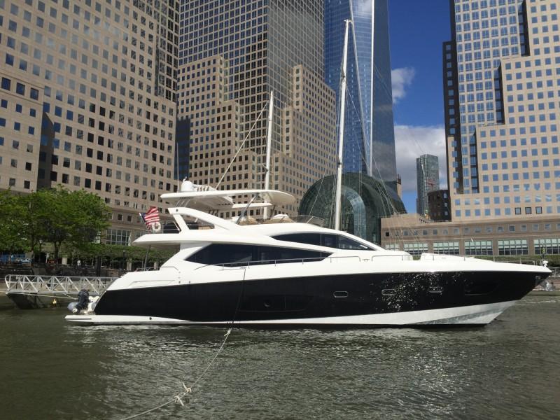 73 ft Sunseeker Manhattan 73