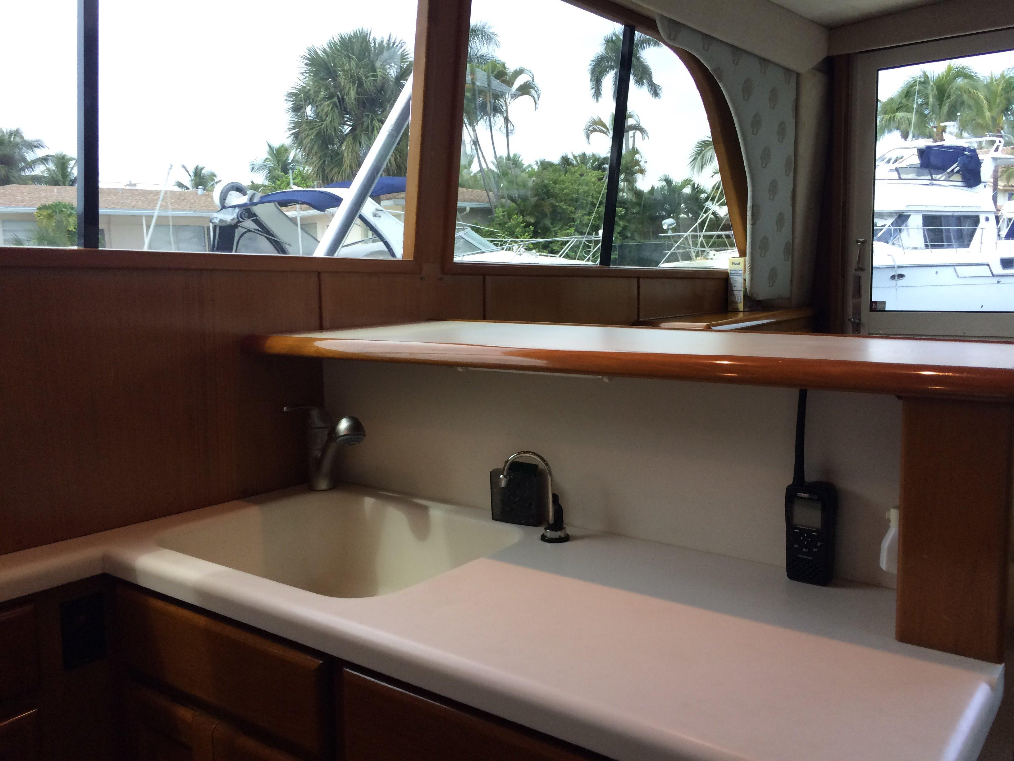 Galley With A View
