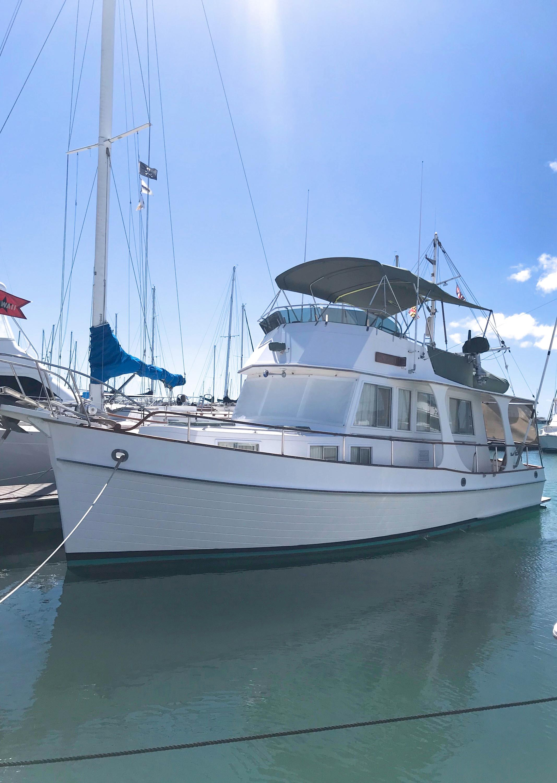 36 Grand Banks Ariel 1989 Honolulu   Denison Yacht Sales