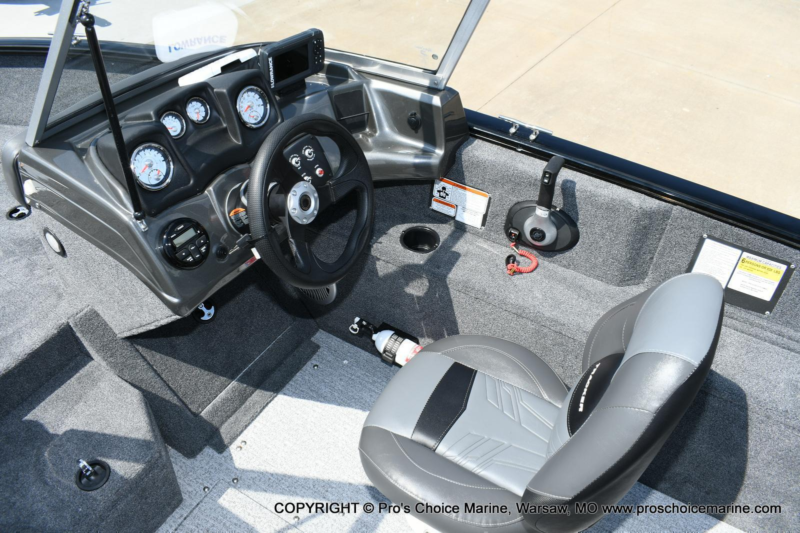 2020 Tracker Boats boat for sale, model of the boat is Pro Guide V-175 Combo & Image # 9 of 50