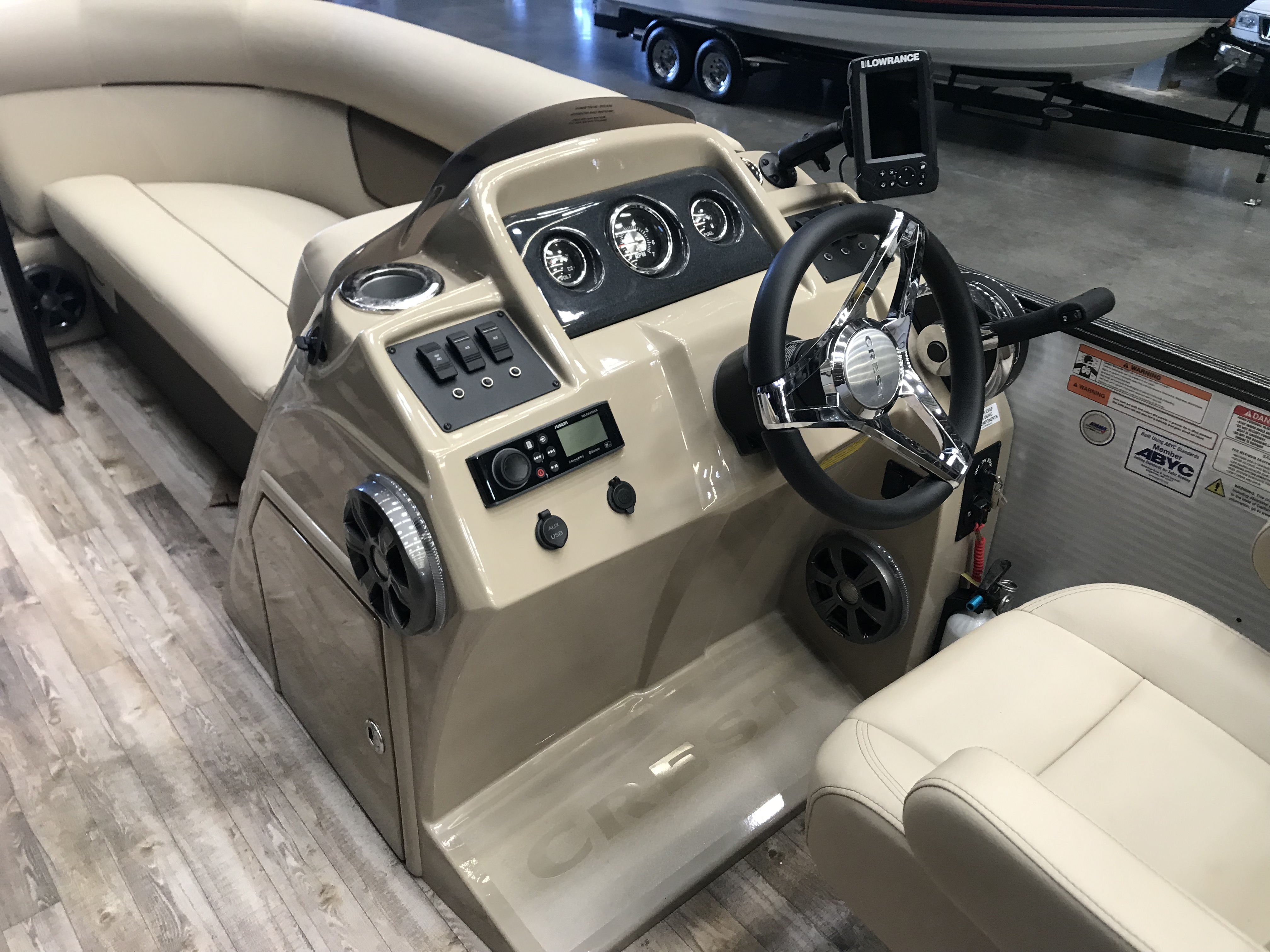 2019 Crest boat for sale, model of the boat is CREST I 200 L & Image # 241 of 480