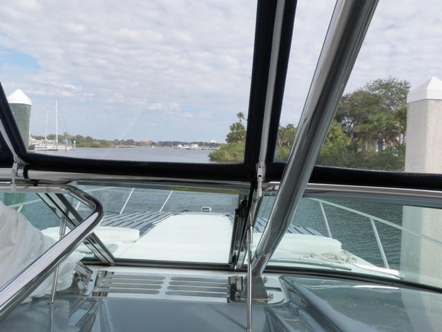 Walk-thru windshield