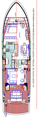 Optional Country Kitchen Layout