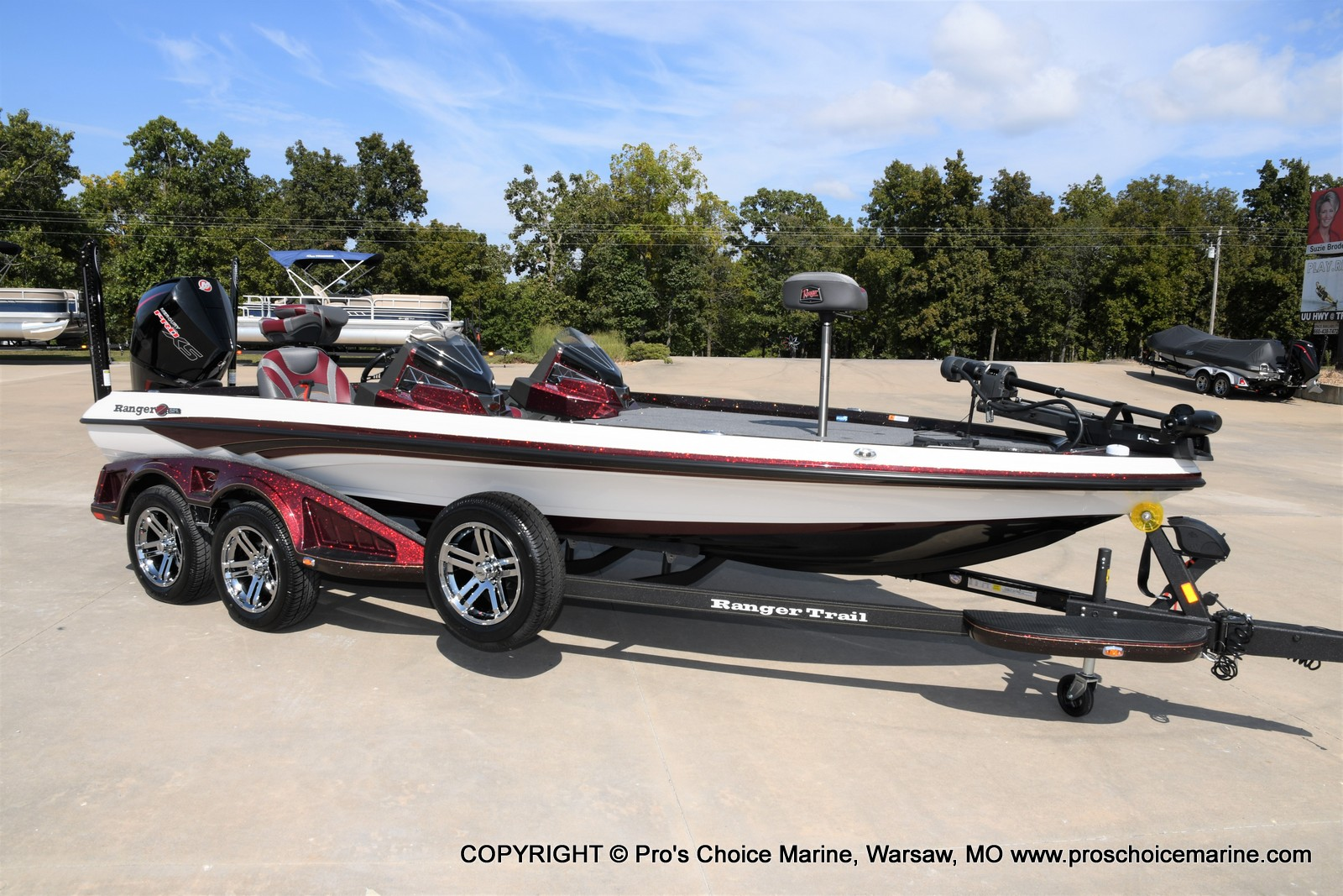 2021 Ranger Boats boat for sale, model of the boat is Z521L Cup Equipped DUAL CONSOLE & Image # 20 of 50