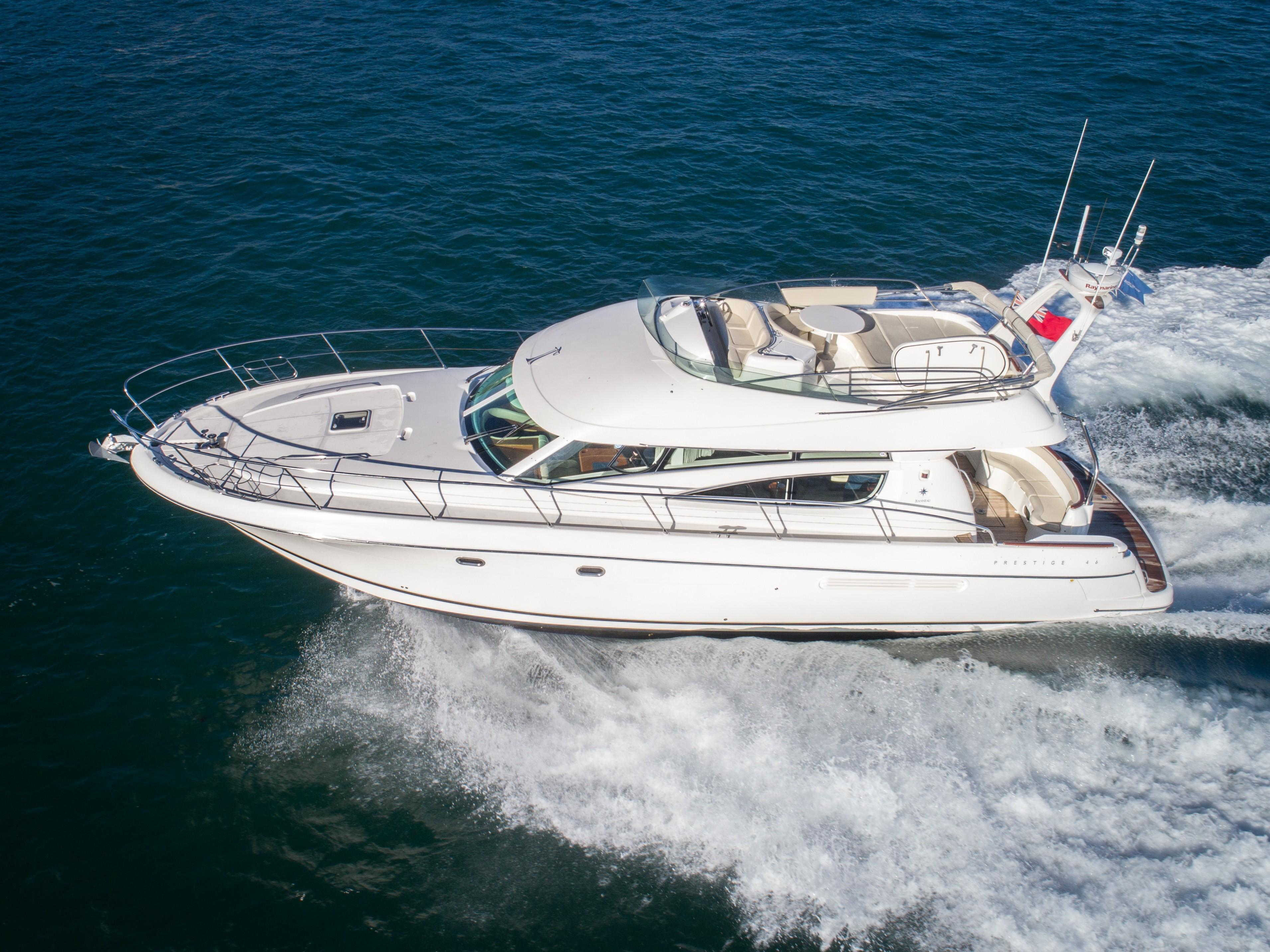 Used Jeanneau Prestige 46 For Sale | Princess Motor Yacht