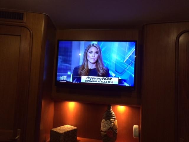 Master Stateroom 5 - TV