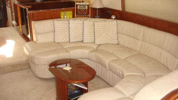 This wonderful example of the Princess 56 motor yacht presents a vibrant ...