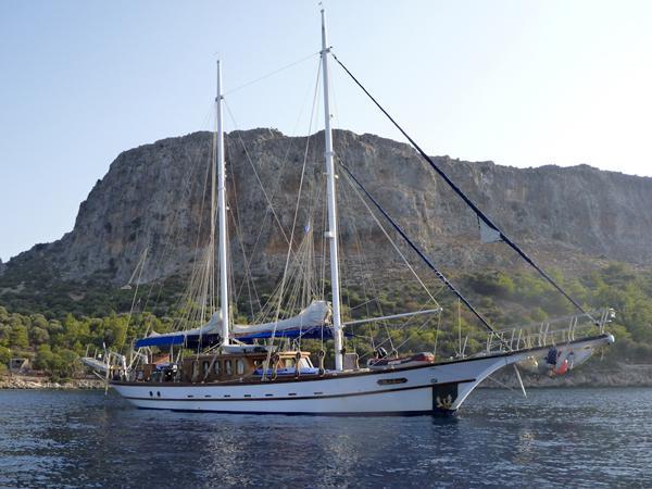 Aegean Yachts STEEL SCHOONER