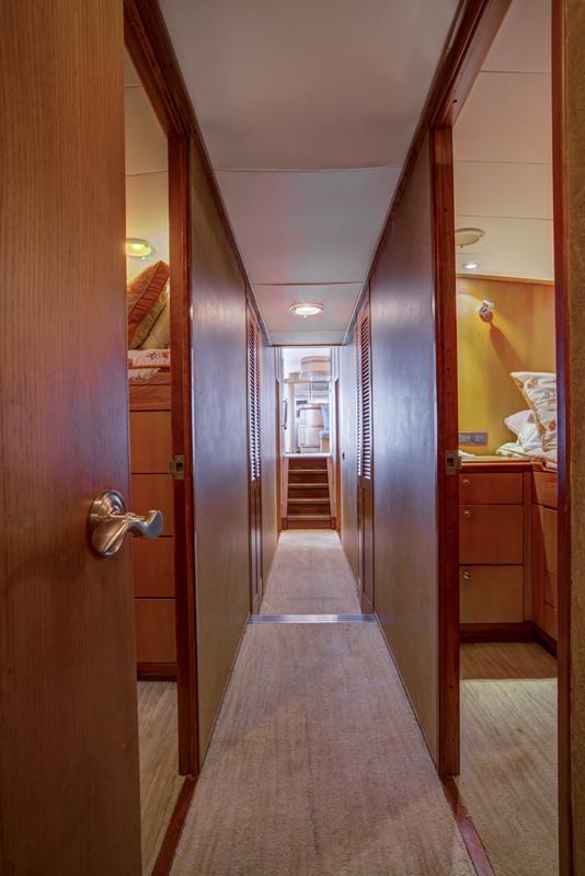 Cabin Hallway