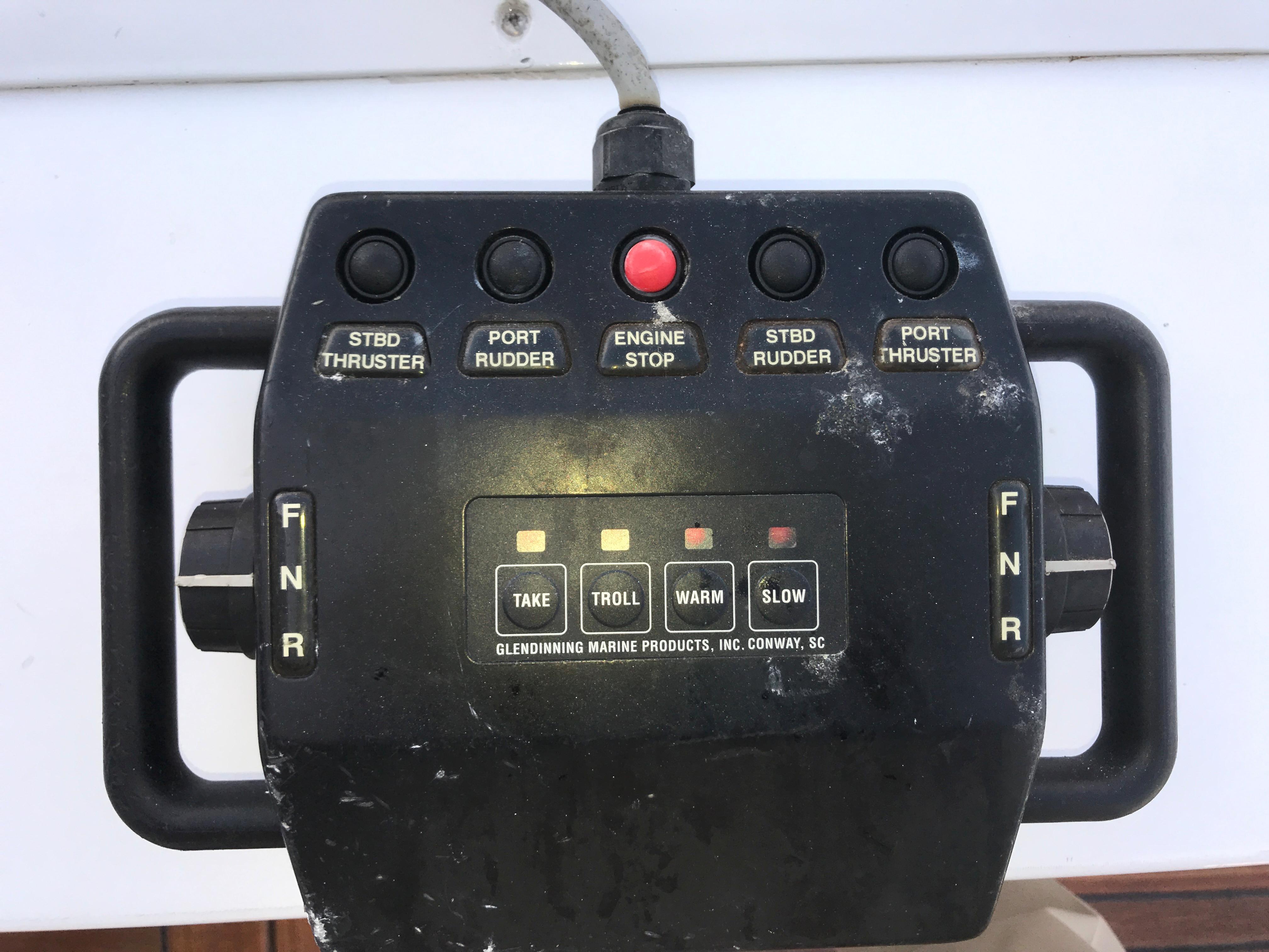 Glendinning Cockpit docking controls
