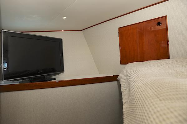 Forward stateroom TV