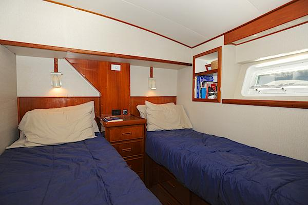 Mid ship stateroom