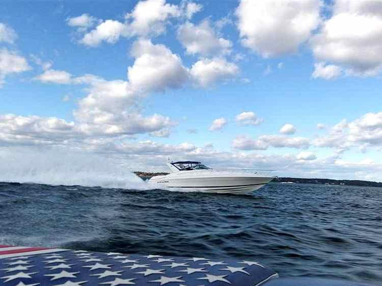 2002 Riviera 470M-Wellcraft Excalibur with Arneson Surface Drives