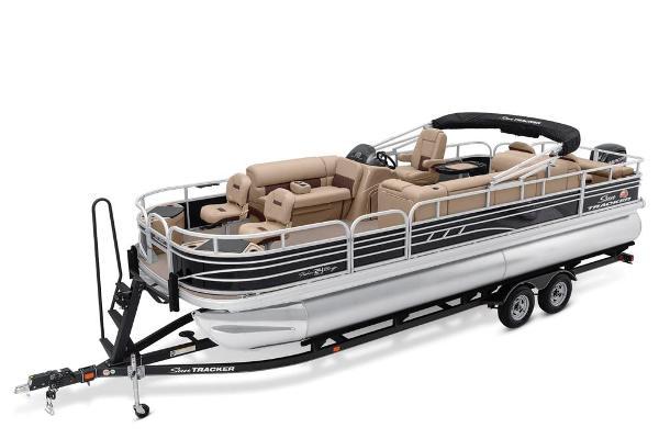 2021 SUN TRACKER FISHIN' BARGE 24 DLX for sale