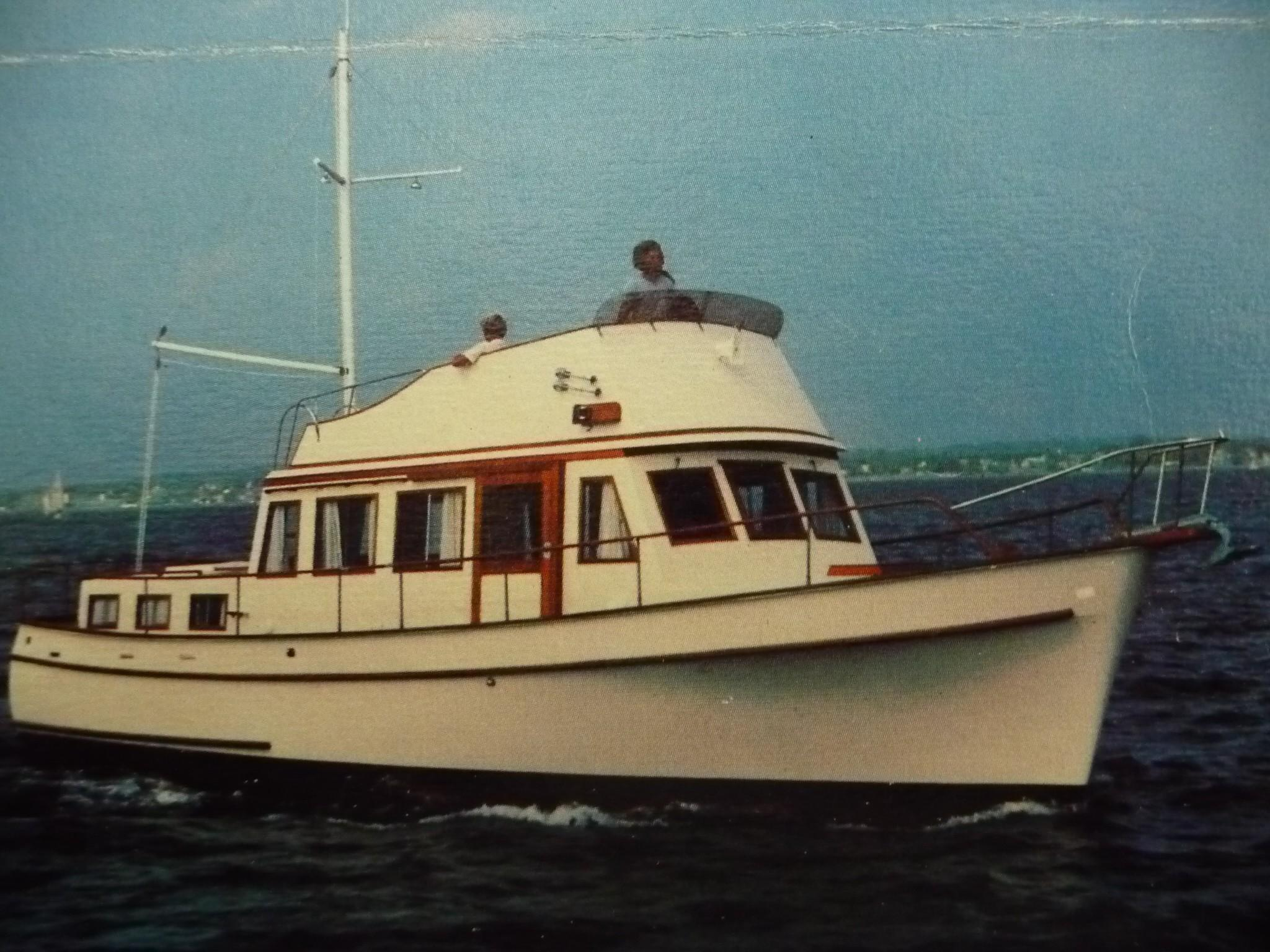 1980 42 Trawler SUMAC | David Walters Yachts