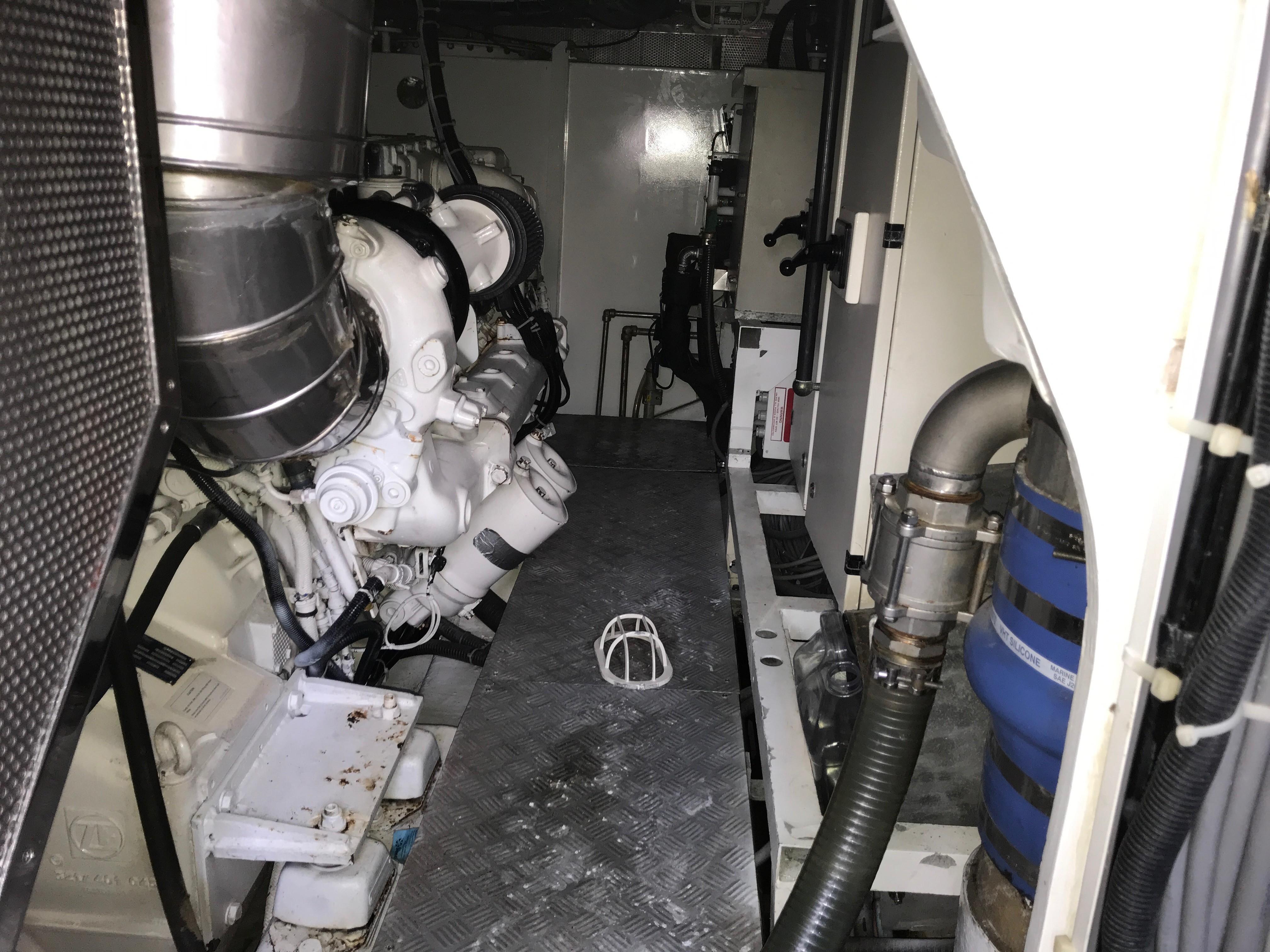 Engine room details
