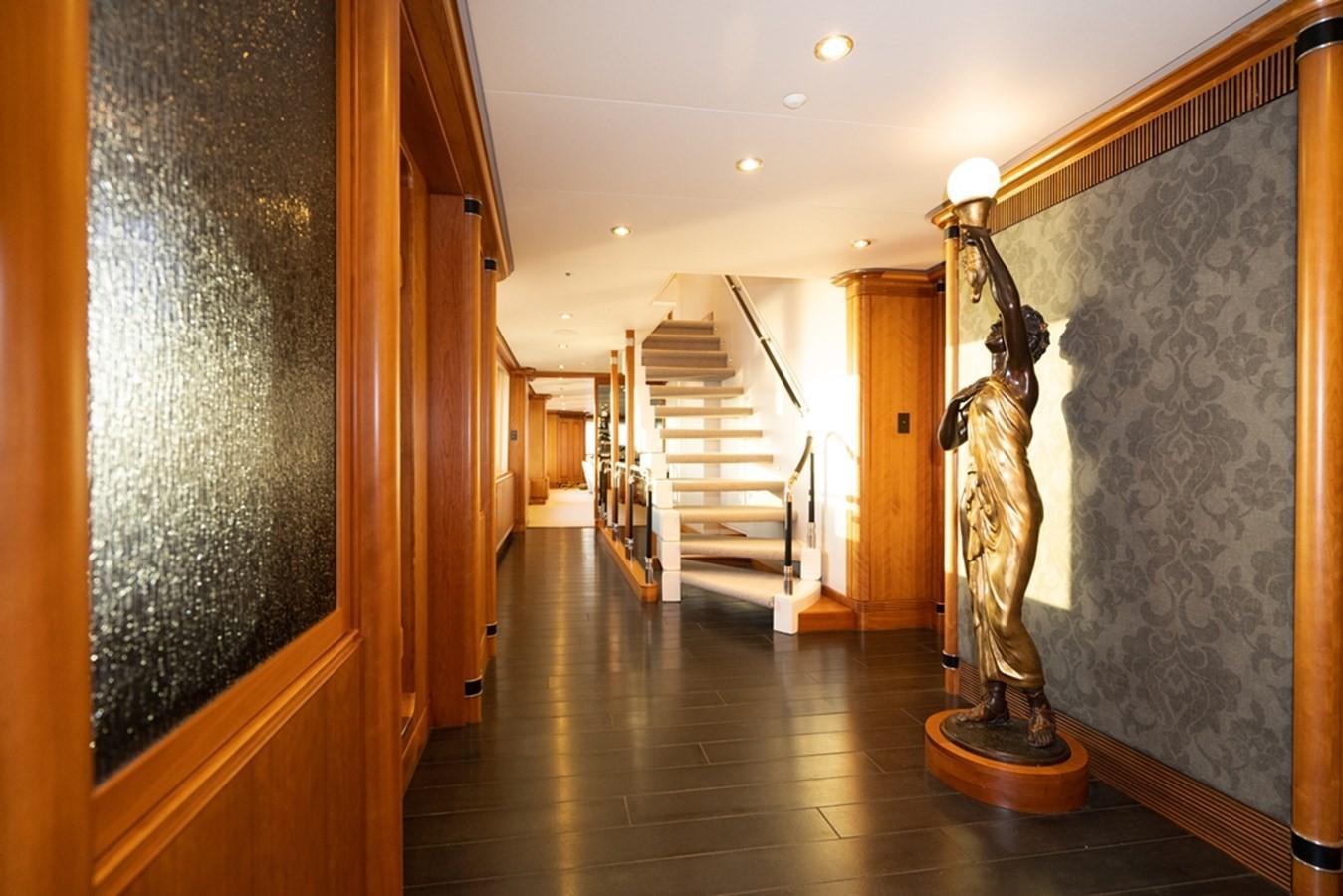 1997 Christensen 155' ''LOON'' - Main Deck Foyer